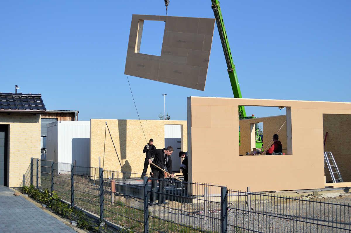 Zimmerei Perner - Bauphase neues Bürogebäude